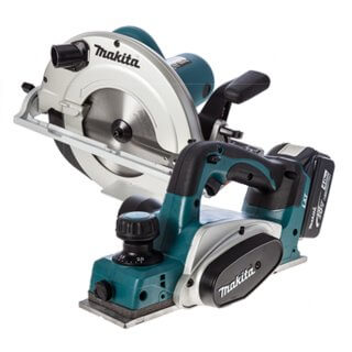 Circular Saw & Power Planer (Cordless) Package
